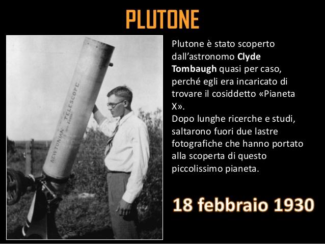 Scoperta di Plutone, 1930