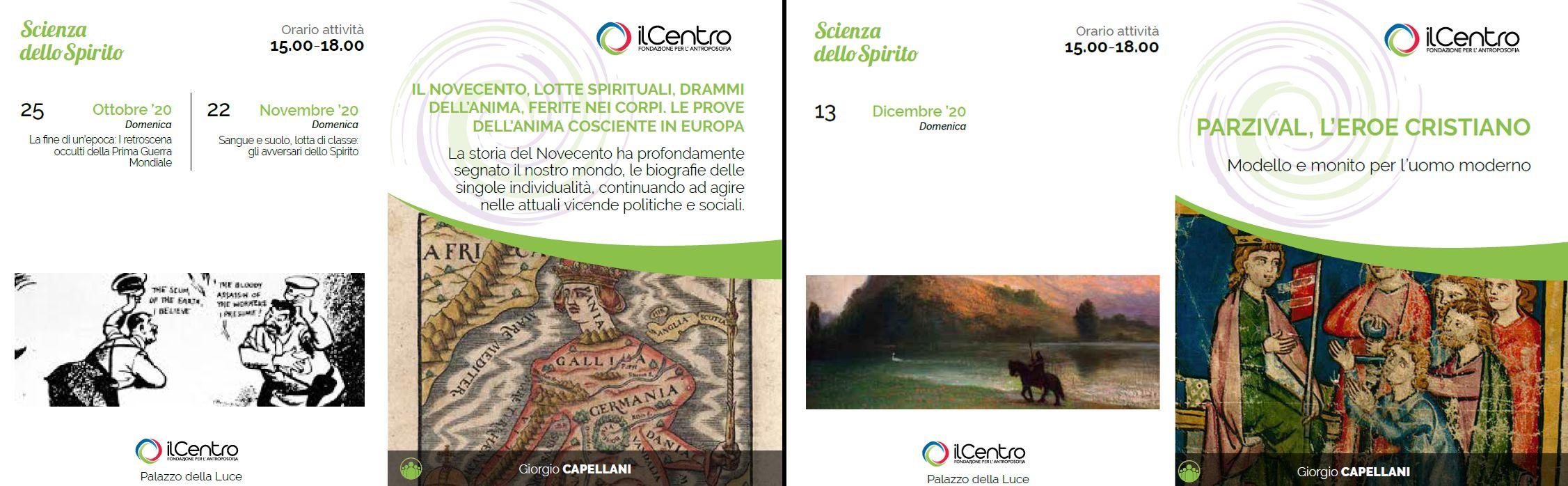 Calendario Giorgio Capellani 2020-21