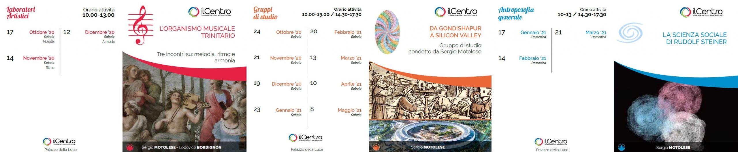 Sergio Motolese calendario attività 2020-21