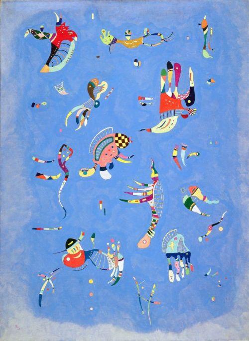 Kandinsky Blu di cielo