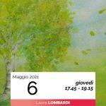 Laura Lombardi pittura sette alberi e sette pianeti 6-5-2021