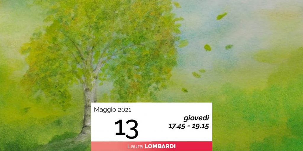Laura Lombardi pittura sette alberi e sette pianeti 13-5-2021