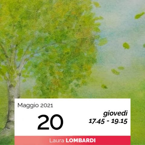 Laura Lombardi pittura sette alberi e sette pianeti 20-5-2021