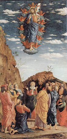 Ascensione - Andrea Mantegna