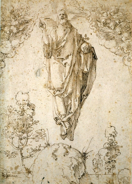 Albrecht Dürer, L'Ascensione di Cristo