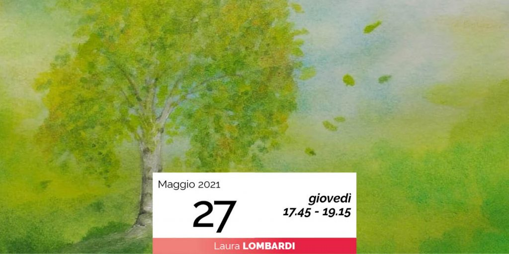 Laura Lombardi pittura sette alberi e sette pianeti 27-5-2021
