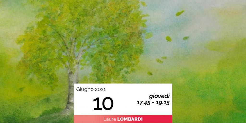 Laura Lombardi pittura sette alberi e sette pianeti 10-6-2021