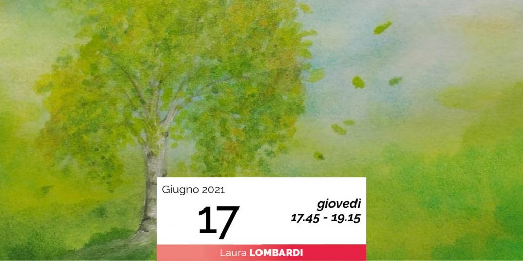 Laura Lombardi pittura sette alberi e sette pianeti 17-6-2021
