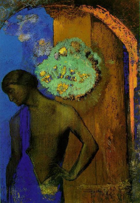 Saint John (The blue tunic) – Odilon Redon (1892)