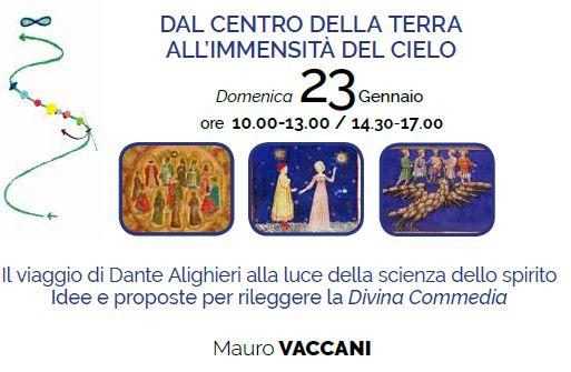 Il calendario attività 2021-2022 di Mauro Vaccani al Centro Antroposofia