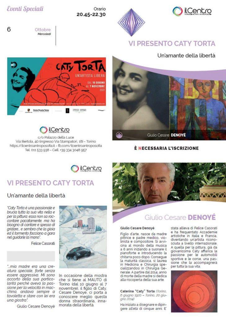 VI PRESENTO CATY TORTA - con Giulio Cesare DENOYE' - locandina