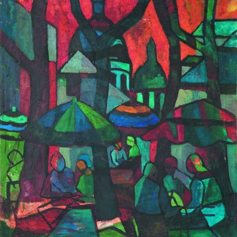 Caty Torta - I tetti di Parigi