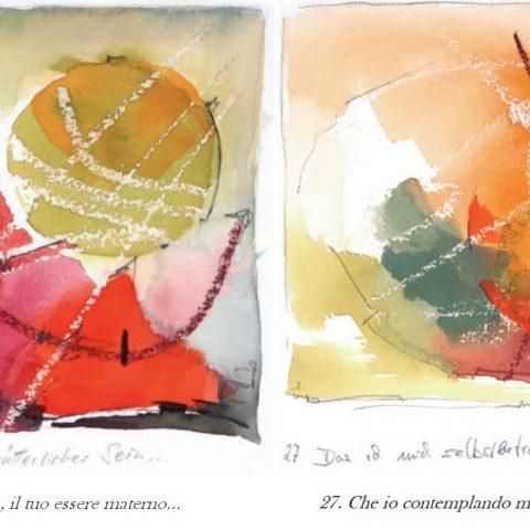 Versetti 26 e 27 del Calendario dell'Anima di Rudolf Steiner