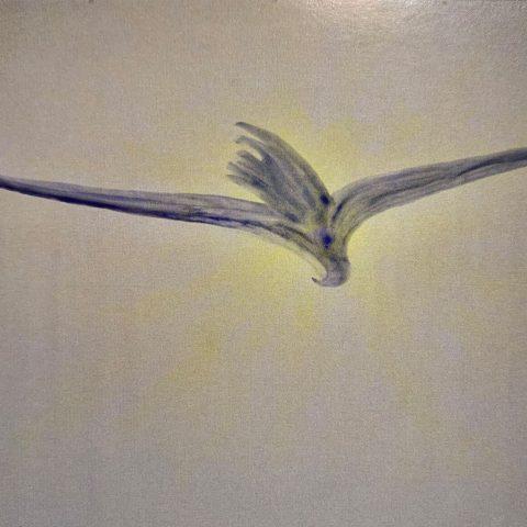 Aquila - Dipinto di Silvano Angelini