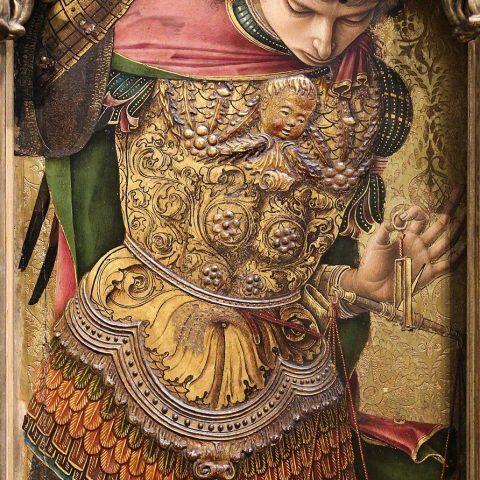 Carlo Crivelli - polittico minore di San Domenico (1476) - San Michele